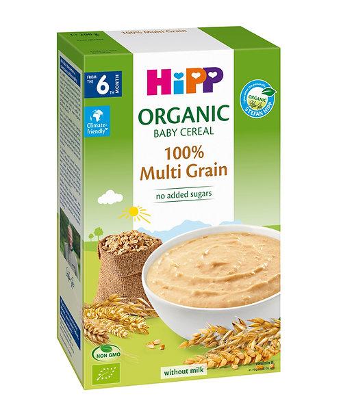 Organic Cereal Pap 100% Multi Grain 250g