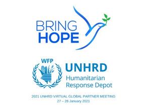 Bring Hope representative at UNHRD