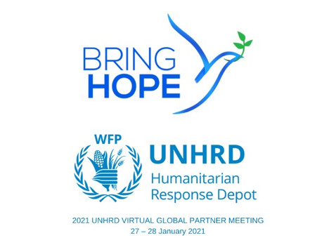 Bring Hope representative at UNHRD