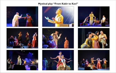 Mystical play 'From Kabir to Kavi'