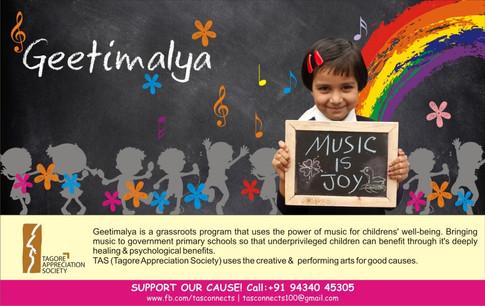 Geetimalya by Tagore Appreciation Society TAS