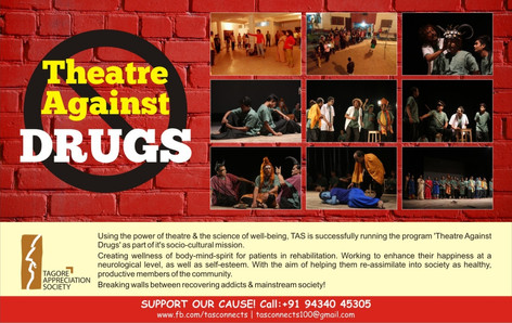 'Theatre Against Drugs' by Tagore Appreciation Society TAS