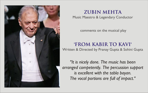 Music legend Zubin Mehta on 'From Kabir to Kavi'