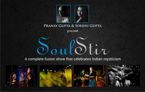 Pranay Gupta and Sohini Gupta's 'Soul Stir' production