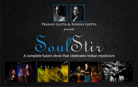 Pranay Gupta and Sohini Gupta's 'Soul Stir' production
