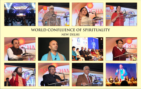 Pranay - Speaker on Spirituality - speaks at World Confluence