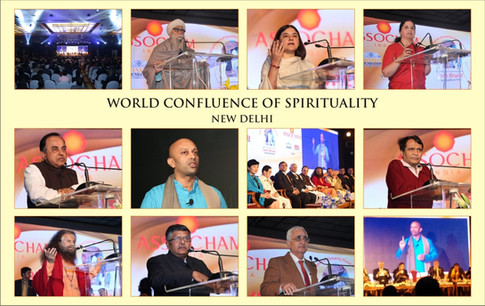 Pranay - Speaker on Spirituality - speaks at World Confluence