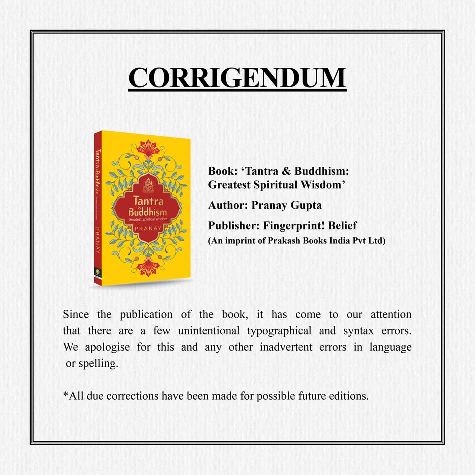 Tantra & Buddhism