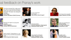 Pranay's Work on Mystics & Mysticism
