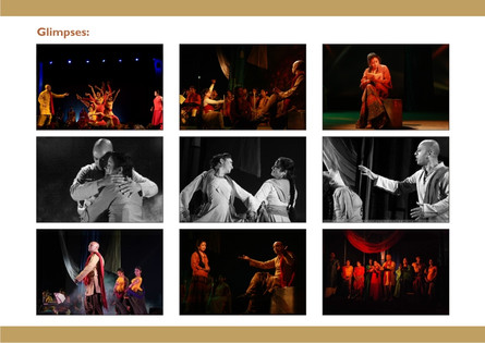 Glimpses of the theatre productions of Pranay Gupta, Sohini Gupta and TAS