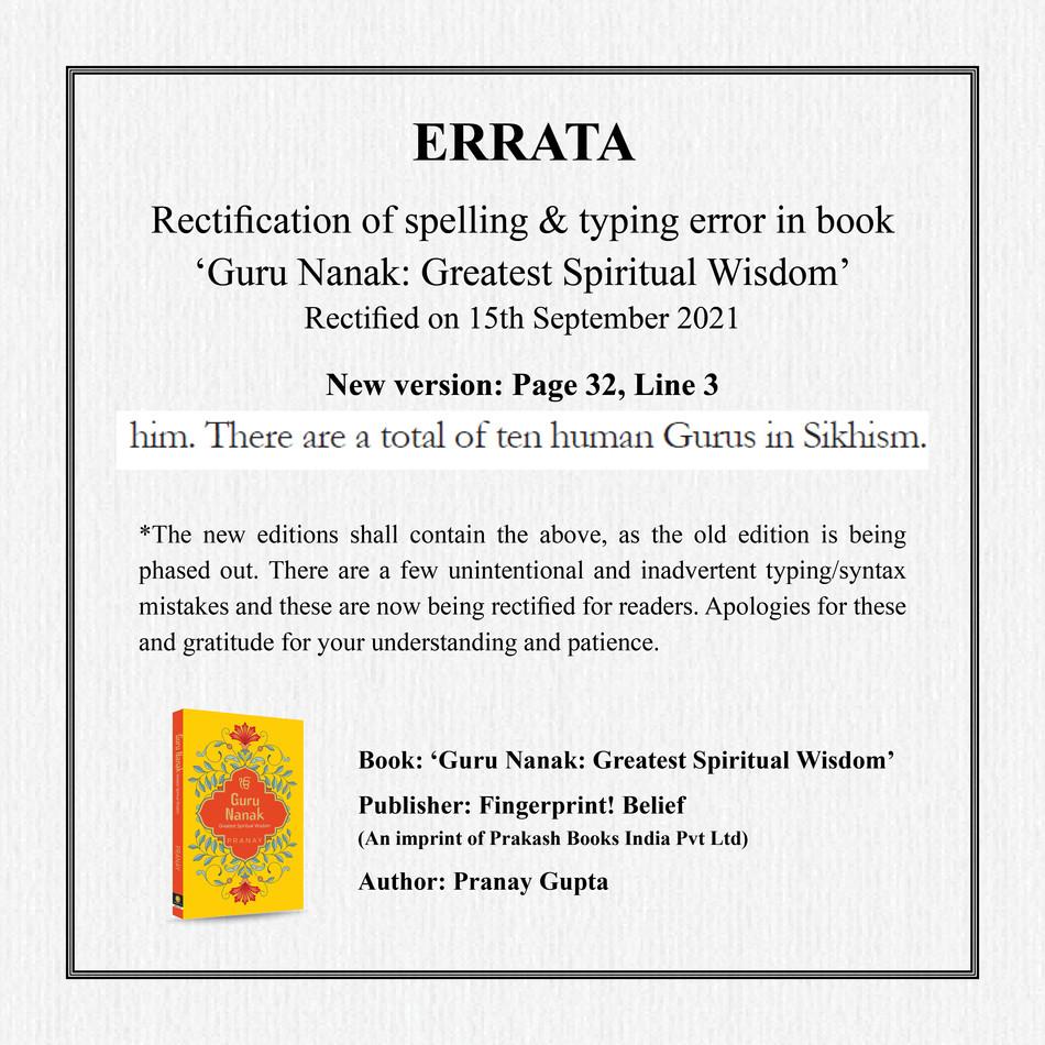 Ref Guru Nanak Book - Page 32 Line 3
