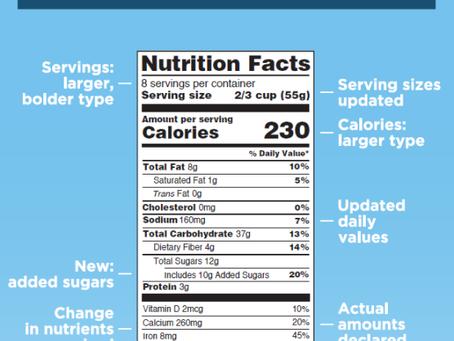 "Understanding the Portobello's ""Nutrition Label"""
