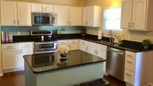 End kitchen countertop clutter...