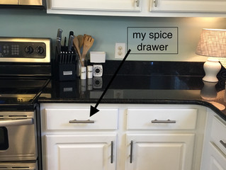 Organizing... your spices