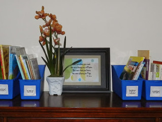 Organizing children's books...