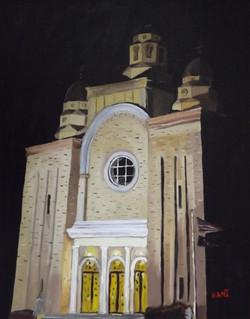 St. Mary's at Night