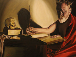 St. Jerome at His Study