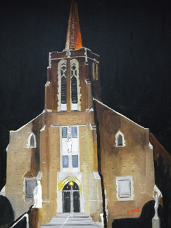 St. Joseph's at Night