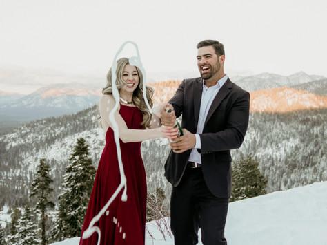 Belinda & Mason Feature on The Knot