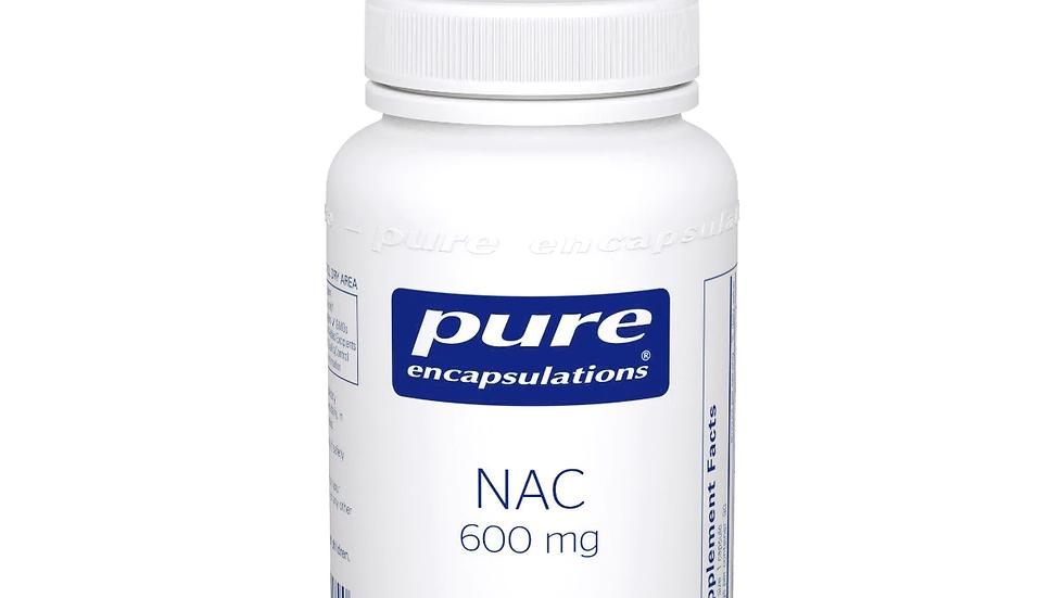 NAC (n-acetyl-l-cysteine) 600 mg