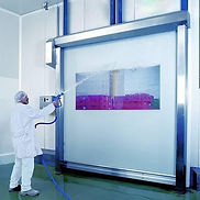 The hygienic high-speed roll-up door