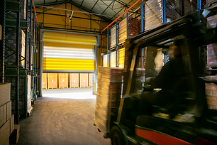 EFAFLEX high speed spiral door for KEAN production