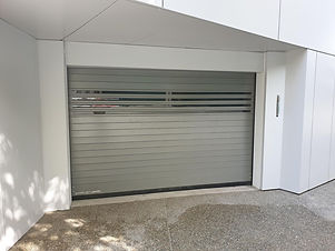 EFAFLEX parking system door for Central Park Residences in Nicosia