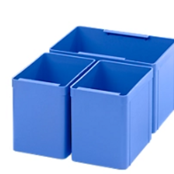 Insert box EK 2, blue, PE