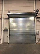 The fire resistant SFS EI roller shutter is a solid, reliable and highly effective door with a fire resistance of 60 minutes.