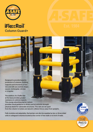 iFlex rail column guard plus