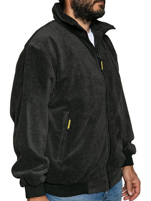 Streetwise Newbury bomber jacket fleece (dark grey)