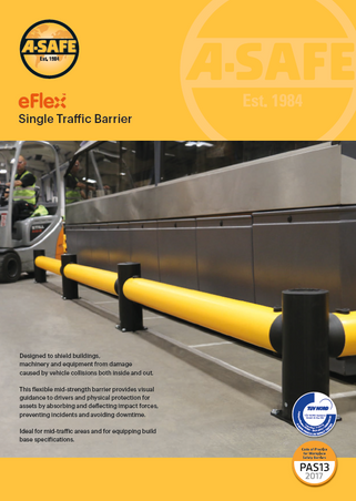 eFlex single traffic barrier