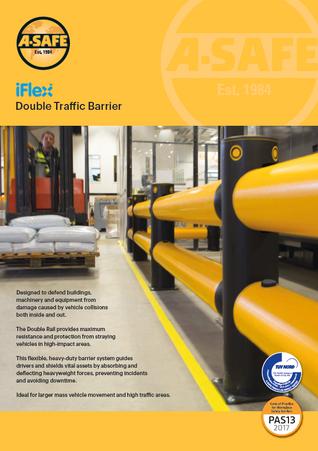 iFlex double traffic barrier