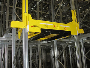 SSI Schaefer orbiter system for Papaellinas new DC