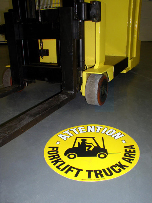 Graphic Floor Markers – English