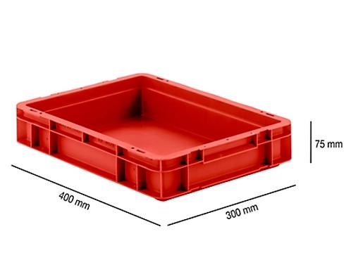 Euro Box series EF 4070, made of PP, capacity 6.9 L