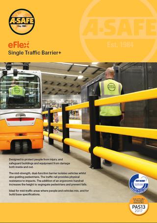 eFlex single traffic barrier plus