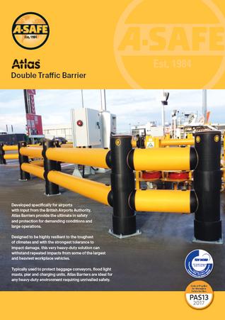 Atlas double traffic barrier
