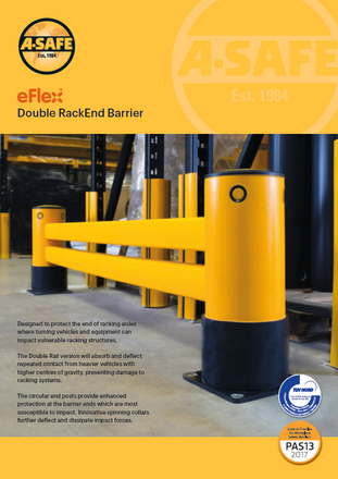 eFlex double rack end barrier