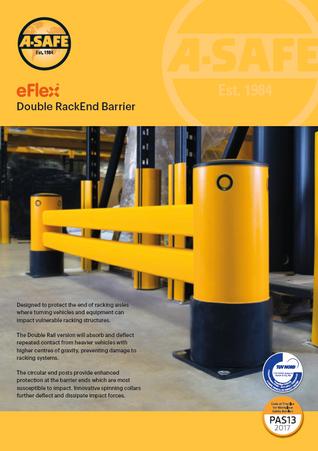 eFlex double rack end barrier