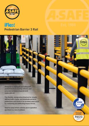 iFlex pedestrian 3 rail