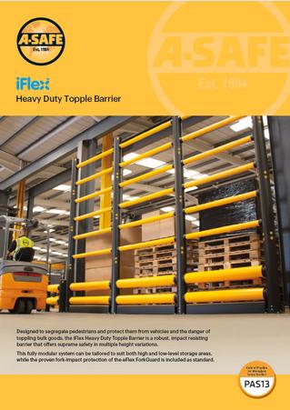 iFlex topple barrier HD