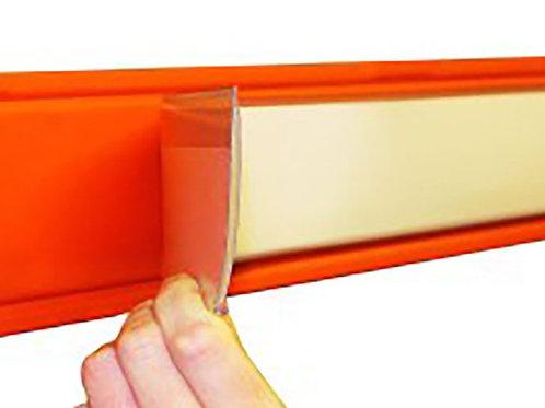 Self adhesive Label Holders 25x130mm