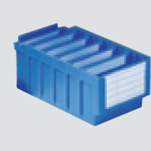Protective film for labels of RK bins (for dividers)