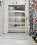 The high speed & fire proof door combo