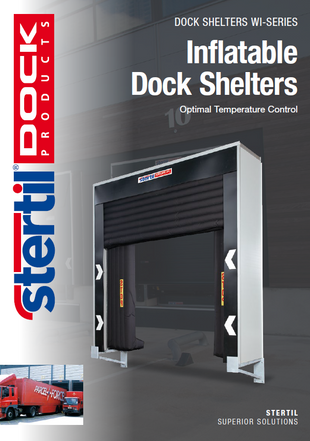 Inflatable dock shelters