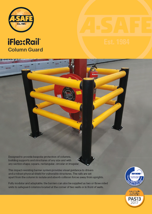 iFlex rail column guard