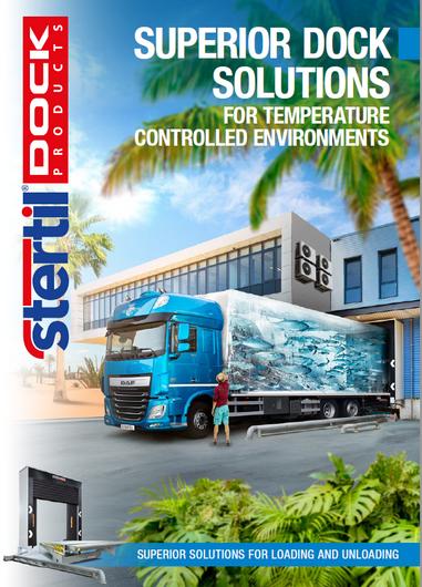 Dock design for temperature controlled zones