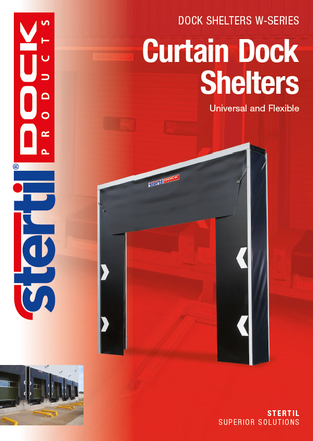 Curtain dock shelters