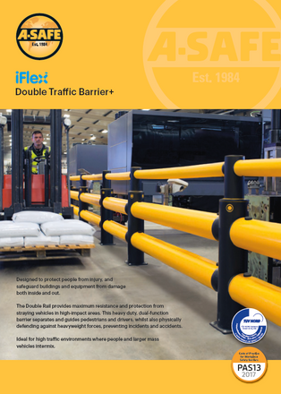 iFlex double traffic barrier plus